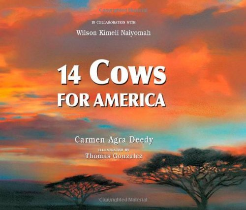 14 Cows for America by Carmen Agra Deedy (31-Aug-2009) Hardcover