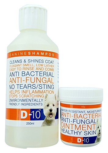 D-10 Anti-Fungal/Anti-Bacterial Dog Care Pack
