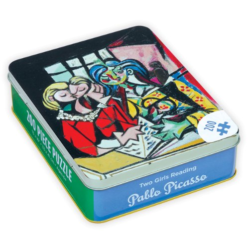 Pablo Picasso Two Girls Reading 200 Piece Puzzle (Jigsaw Puzzle in Tin 200 Piece) por Mudpuppy Press