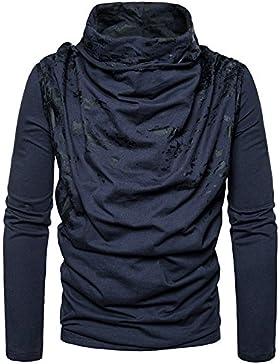 Maglia a manica lunga Maglia maglione maglione personalizzato heap elegante per l'uomo Sau suite svaghi testa,...