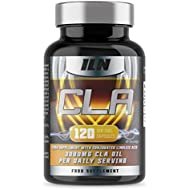 Iron Labs Nutrition, CLA - 3000mg x 40 Servings - Food Supplement with Conjugated Linoleic Acid (120 CLA Capsules)