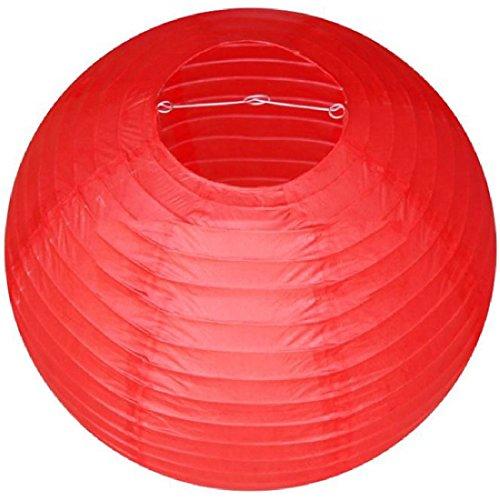 joyliveCY CY-Buity Hochzeit Party Chinesisches Papier Laterne Dekoration Verschiedene Farbe, rot, 40 cm