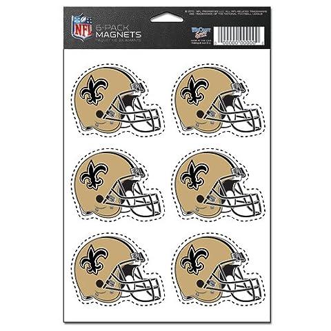 New Orleans Saints 6-Pack Magnet Set (New Orleans Saints Magnet)