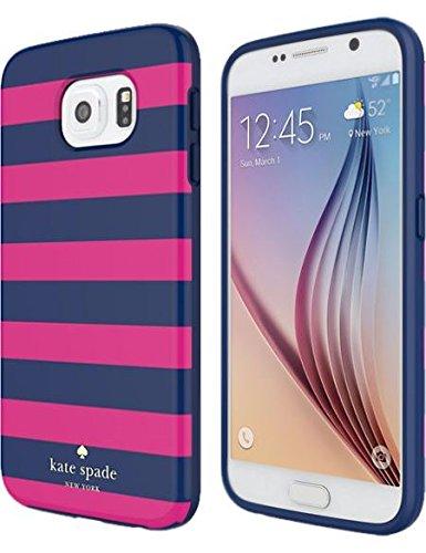 Kate Spade New York Flexible Hartschalen für Samsung Galaxy S6-Candy Stripe Samsung Stripe
