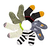 Babyicon 5 Paar Baby Jungen Mädchen Kinder Baumwolle Socken Alter 0-3 Jahre (M: 1-3 Jahre alt, H)