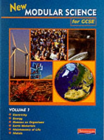 New Modular Science for GCSE: Volume 1: Year 10 by Mr Will Deloughry (1997-05-09)