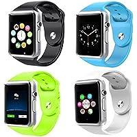Theoutlettablet® GT08 Reloj inteligente Smart Watch Bluetooth para Teléfono con tarjeta SIM y ranuara para