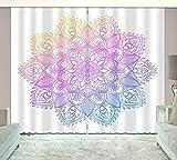 HONGYZCL Einfacher Digitaler Vorhang Der Malerei 3D, Der Für Hauptschlafzimmerwohnzimmer Passend Ist,300Cm(W)×270Cm(H)