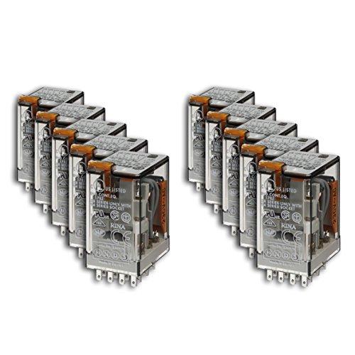 Preisvergleich Produktbild Finder Relais Versorgungsspannung 230 V AC, 4 W, 7 A, 1 Stück, 55.34.8.230.0040