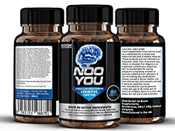 Nootropics Supplements | #1 Proven Nootropic & Brain Supplement | 90 Cognitive Enhancers | 3 Month Supply | Safe & Effective | Manufactured In The Uk! | Results Guaranteed | 30 Day Money Back Guarantee