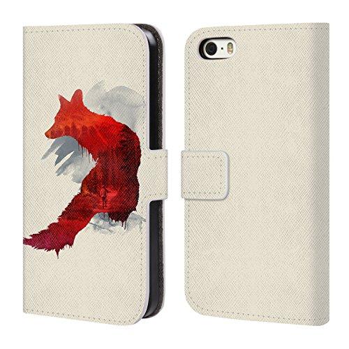 Ufficiale Robert Farkas Vulpes Volpe Cover a portafoglio in pelle per Apple iPhone 6 / 6s Cattive Memorie