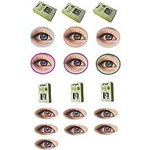 Naty, lentillas de color sin corrección, fantasía, anuales 1año gris rosa verde azul marrón morado., pink-naty swan