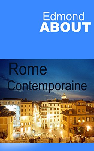Rome contemporaine par Edmond About