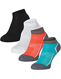 Calcetines de Running Low-Cut Pro DANISH ENDURANCE, calcetines de corte bajo, para zapatillas, transpirable, para mujeres, hombres, IDEALES para todos los deportes, actividades físicas y el uso diario
