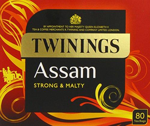 Twinings Assam Tea 80 (Pack of 4)