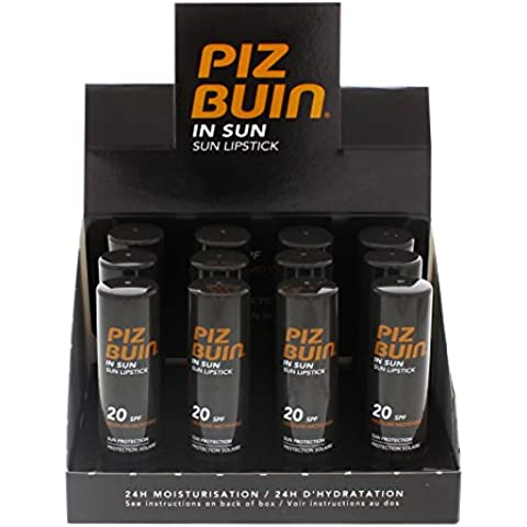 12 x Piz Buin In Sun Care SPF 20 sole
