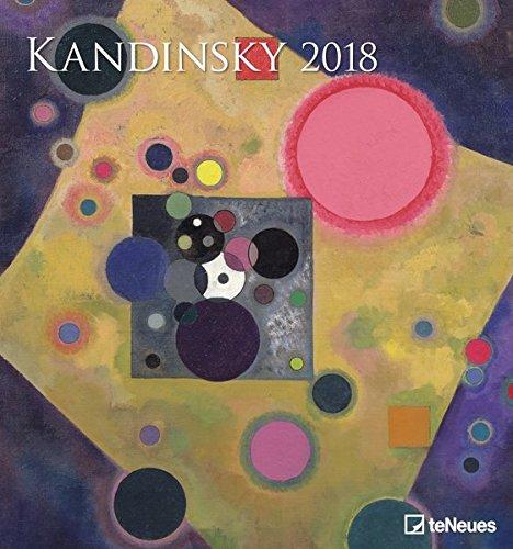 2018 Kandinsky Calendar - Wall Calendar- Art Calendar - 45 x 48 cm por teNeues Calendars & Stationery