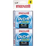 Maxell DVD-RCAM/6 DVD-r Cam/6 8cm Write-Once DVD-r Removable Disc for DVD Camcorders