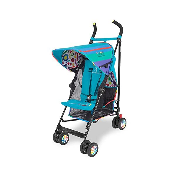 Maclaren Dylan's Candy Bar Volo Stroller - super lightweight, compact Maclaren Basic weight of 3.3kg/7.2lb; ideal for children 6 months and up to 25kg/55lb Maclaren is the only brand to offer a sovereign lifetime warranty Extendable upf 50+ sun canopy and built-in sun visor 2