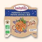 Bonne Nuit Bio (Avec Morceaux) - Marmite du potager Patates Douces Blé - 260g