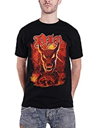 Dio T Shirt A Decade of 1983-1993 Demon Band Logo Official Mens Black