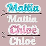 Portaconfetti polistirolo personalizzabile nome scritta personalizzata contenitore caramelle cioccolatini (3-7 lettere)