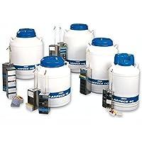 AIR LIQUIDE DMC 082512 Set de racks pour tubes 5 mL pour cryoconservateur ARPEGE 70, compatible avec boîtes 133 mm x 133 mm x 95 mm