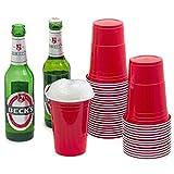 1-2-3 und ab geht die Party! Mit diesen modernen Klassikern setzen Sie auf Ihrer nächsten Feier auf Qualität bei Ihren Einwegbechern. Die Red Party Cups sind nämlich qualitativ hochwertige, dickwandige und Ãußerst robuste Mehrweg-Partybecher. Ab sofo...