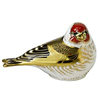 Royal Crown Derby - Paperweight - Goldfinch