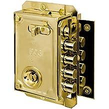 Fac S-90 - Cerradura, sentido de apertura derecha, color dorado