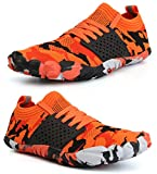d1ae7d90c41 WHITIN Zapatilla Minimalista de Barefoot Trail Running para Mujer Five  Fingers Fivefingers Zapato Descalzo Correr Deportivas Fitness Gimnasio  Calzado ...