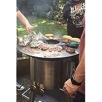 fireplate/plancha/BBQ placa de/para barbacoas esféricas o Fuego toneladas