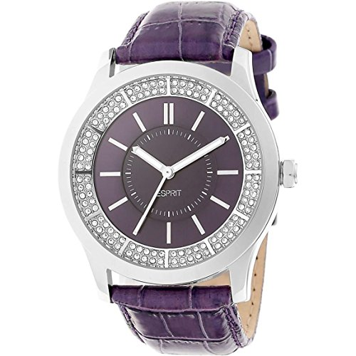 Esprit Damen Analog Quarz Uhr mit Leder Armband ES103812003