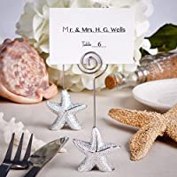 Shimmering starfish design place card holder favors [SET OF 48] by FashionCraft Wedding Favors preisvergleich bei billige-tabletten.eu
