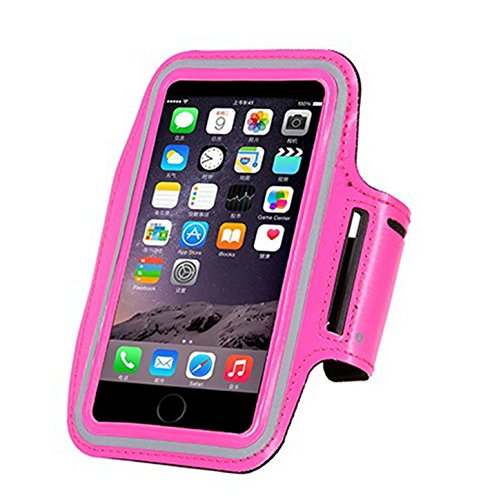 "inShang iPhone 6s Brassard Armband pour Sports Gym Jogging Marcher, cyclisme, exercice Etui housse Case Sport Arm Band pour iPhone 6 6S 4.7 "" rose"