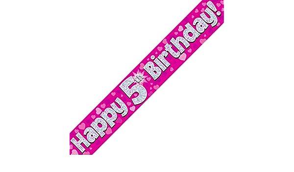 Oaktree UK 18 30 Geburtstag Girlanden Holografische Folie Design Ballons,...