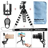 Best Flexible Tripod For Cell Phones - Fantaseal® Octopus Flexible Tripod Gorillapod Mini Tripod 5-in-1 Review