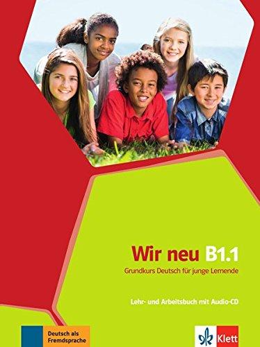 Wir neu b1.1, libro del alumno y libro de ejercicios + cd por Jane Cadwallader