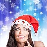 2 Stück Glühender Weihnachtshut Weihnachtsmütze