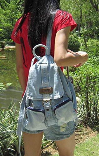 Imagen de donalworld  bolso  de vaquero para mujer m, color azul, talla m alternativa
