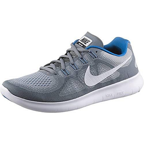Nike Nike Free Rn 2017 S - cool grey/white-wolf grey-blue, Größe #:11.5