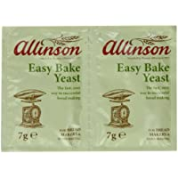 Allinsons Easy Bake Yeast Twin pack 7g (Pack of 24)