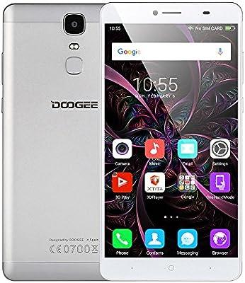 DOOGEE Y6Max Smartphone (3d Versión) de 6.5pulgadas FHD 4G LTE de FDD sin Contrato Android 6.0Octa Core 3GB RAM + 32GB ROM 13.0MP cámara principal 4300mAh Batería Huella Dactilar metal cuerpo Dual SIM