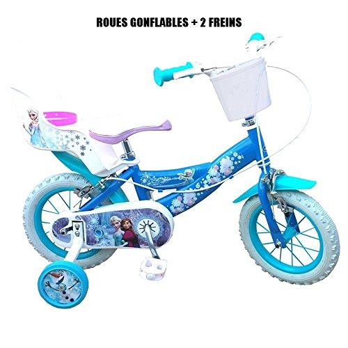 Vélo officiel La reine des Neiges 12 pouces Disney enfant fille frozen