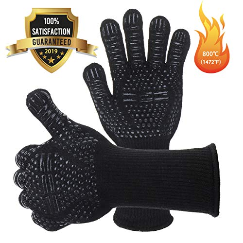 1 Pair Free Shipping Aramid Fire Insulation Gloves Heat Resistant Glove 932f Bbq Glove Oven Kitchen Glove Direct Supply Fashionable And Attractive Packages Back To Search Resultsapparel Accessories