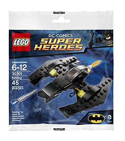 LEGO Super Heroes DC Comics Batman Batwing Promo 30301 Polybag