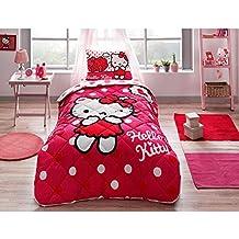 Copriletto Hello Kitty Singolo.Amazon It Trapunte Hello Kitty