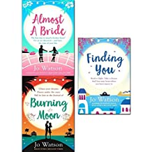 almost a bride, burning moon and finding you 3 books collection set - the funniest rom-com you'll read this year!, a romantic read that will have you in fits of giggles, a gorgeous read full of laughter and love to escape the winter blues