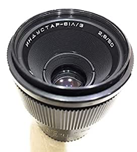 Russian Micro 50mm 1:2.8 Lens M42 Screw muont Lens.