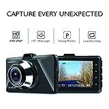 """Techlife AUSEK AK-268 Dash Cam 1080P FHD DVR Car Driving Recorder 3"""" LCD"""